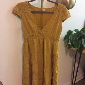 Mustard FOSSIL Dress